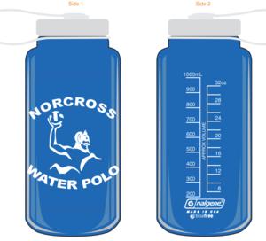 Norcross Logo 32 oz Water Bottle