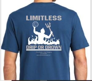 Unisex Maritime Blue - Norcross Logo Short Sleeve T Shirt