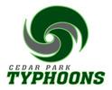 Cedar Park Typhoons Logo