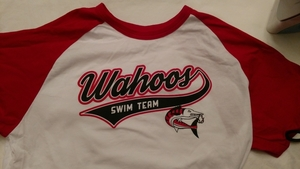 SALE: Wahoos White/Red Baseball Shirt (was  $15)