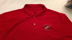 SALE - Adult Red Polo Shirt (was $30)