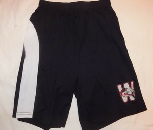 SALE Black Wahoos Athletic Shorts (was $15)