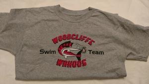 SALE: Grey Wahoos Team T- Shirt (was $15)