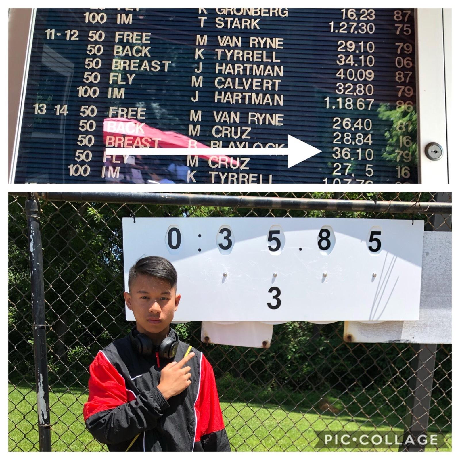 Tommy Nugen Breaks 40 YO Pool Record