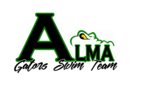 Alma Gators Swim Team Logo