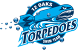 12 Oaks Summer Swim Team Logo