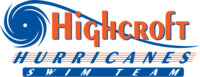 Highcroft Hurricanes Swim Team Logo