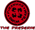 The Preserve Piranhas Swim Team Logo